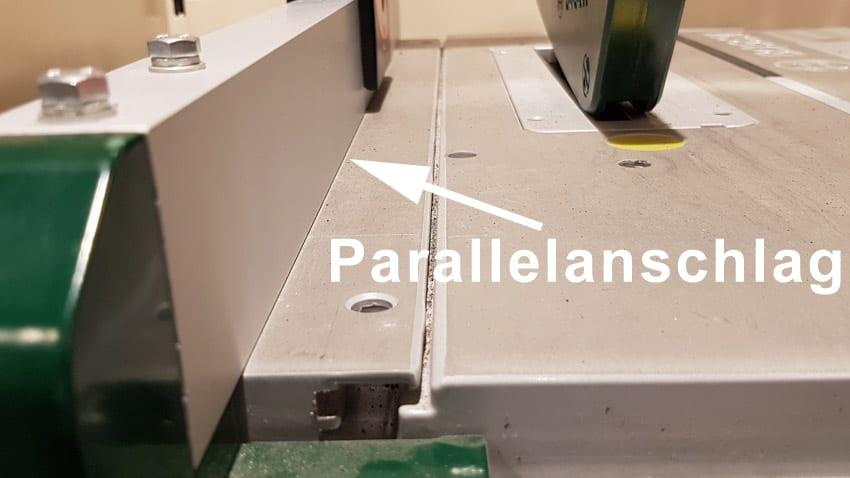 Tischkreissaege Parallelanschlag